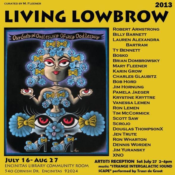 living lowbrow